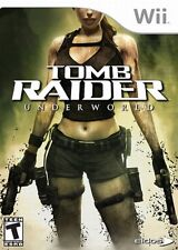 TOMB RAIDER UNDERWORLD NINTENDO WII AND WII U KIDS GAME