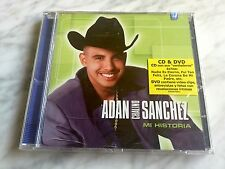 Adan Chalino Sanchez Mi Historia CD/DVD SEALED! 2004 SONY NEW! NUEVO CORRIDOS!