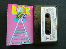 BACK ON TRACK RARE NEW ZEALAND CASSETTE TAPE! U2 FYC COLLETTE MARTIKA SINITTA