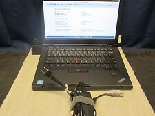 Lenovo ThinkPad T430s i5-3320m 4GB 500GB HDD With Dock and 20V AC Adapter NO OS