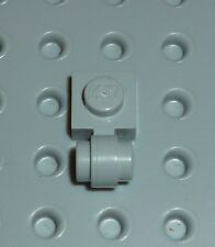 LEGO - PLATE, Modified 1 x 1 with Clip Light Thick Ring, L B GREY x10(4081b)PM26
