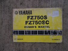 1985 Yamaha Motorcycle FZ750S FZ750SC Owner Manual CHECK OUT OUR STORE  S