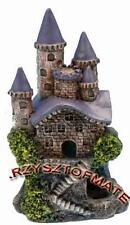 CASTLE RUIN AQUARIUM FISH TANK ORNAMENT DECORATION 10cm RRW5