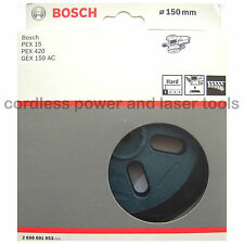 Bosch HARD Backing Sanding Pad Rubber Base Plate for GEX 150 AC 2608601053