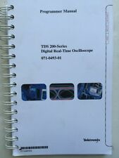 Tektronix TDS 200-Series Digital Oscilloscope Programmer Manual P/N 070-0493-01