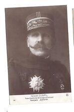 Carte-photo c1915 - Général Dubail - Grand Croix Légion d'Honneur - A.N. Paris