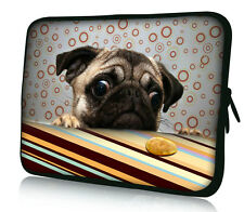 "17"" 17.3"" Pug Laptop Sleeve Case Bag For HP Pavilion DV7 E17 G7 /Dell XPS /Acer"