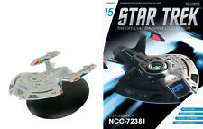 #15 Star Trek USS EQUINOX Die-Cast Metal Ship-UK/Eaglemoss w Mag-FREE S&H