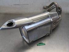 EB250 2013 13 KAWASAKI ER-6N ER650 EXHAUST MUFFLER DENTED DAMAGED BAD!