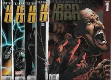 ULTIMATE IRON MAN #1-#5 SET (NM-) ORSON SCOTT CARD & ANDY KUBERT
