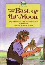 Children's DVD Stories From East Of The Moon Kid's Fairytales By Terry Jones 4+