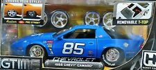 JADA 85 1985 CHEVROLET CHEVY CAMARO BIGTIME MUSCLE HOBBY CHRM WHLS 1:24 CAR VHTF