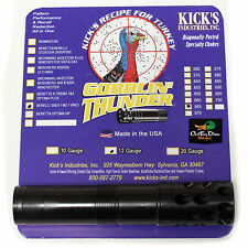 KICKS GOBBLIN THUNDER PORTED TURKEY CHOKE TUBE 12 GA BENELLI SBE II CRIO M2 .665