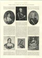 1894  Peter The Great And His Successors