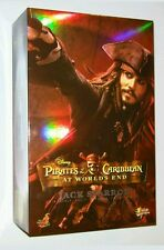Hot Toys Pirates of the Caribbean At World's End Jack Sparrow Action VHTF