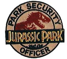 Jurassic Park - Park Security Uniform Patch  Aufnäher  neu