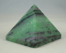 """1.4"""" Tall RUBY IN ZOISITE PYRAMID - INDIA"""