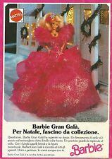 X2549 Barbie Gran Galà - Mattel - Pubblicità 1991 - Advertising
