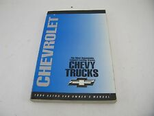 Chevy Astro Van 1994 94 Factory Owners Manual Chevrolet Free Shipping Chev