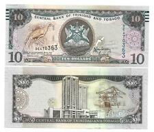Trinidad & tobago 10 dollar 2006 (2015) New sign unc p 48