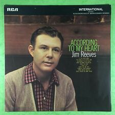 Jim Reeves - According To My Heart - RCA INTS-1013 Ex+  IF YOU WERE MINE