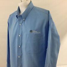Cutter Buck Disney Destinations Oxford Dress Shirt Blue Embroidered 3XB