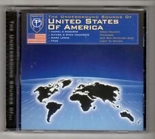 (HA762) The Underground Sounds Of United States Of America - 2001 CD