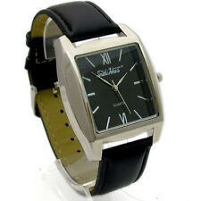 Smith & Jones Gents Quartz Watch Black Dial New In Box 11B