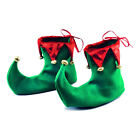 Christmas Fancy Dress Pointed Elf Pixie Fairy Shoes Cover Costume Accessory