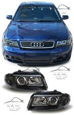 HEADLIGHTS DARK FOR AUDI A4 B5 99-01 NEW LAMPS FARI ANTERIORI