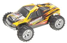 1:18 RC Remote Control Monster Truck Off Road High Speed 4WD 2.4GHz RTR Yellow