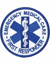 Novelty (U-N404) Emergency Medical Care First Responder Round Patch