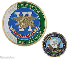 NAVY SEAL TEAM SIX 6 OSAMA BIN LADEN NEPTUNE SPEAR GOLD TRIDENT CHALLENGE COIN