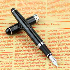 Jinhao X750 18kgp Deluxe Black Medium Nib Fountain Pen Nice Gift