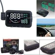 Universal Car HUD Vehicle-mounted Head Up Display System OBDII Overspeed Warning