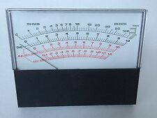 OHMS Meter Simpson Weston RCA New Old Stock- Really Nice