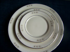 "LENOX CHINA METROPOLITAN COLECTION  ""SILVER SPRINGS"" PATTERN 3 PIECES"