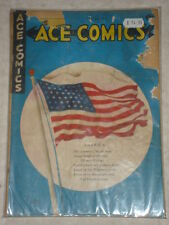 ACE COMICS #65 FR+ (1.5) GOLDEN AGE DAVID MCKAY