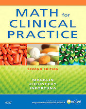 Math for Clinical Practice by Mother Helena Infortuna, Denise Macklin,...