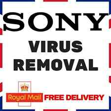 SONY WINDOWS VIRUS REMOVAL - ANTIVIRUS/ANTI-MALWARE/ANTI-SPYWARE XP VISTA 7/8/10
