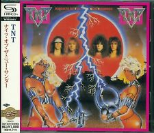 TNT KNIGHTS OF THE NEW THUNDER 2012 RMST SHM CD - TONY HARNELL - GIFT PERFECT!