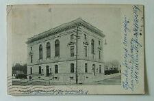 1906 POSTCARD UNITED STATES POST OFFICE & COURT HOUSE JAMESTOWN NEW YORK #1199w