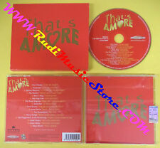 CD COMPILATION THAT'S AMORE SRCD 012 ITALY PROMO elvis frank sinatra(C30)