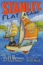 Stanley, Flat Again! (Flat Stanley)-ExLibrary