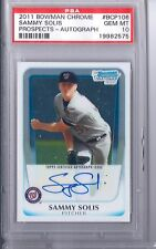 2011 Bowman Chrome Sammy Solis   PSA 10