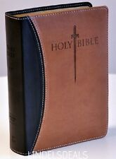 HOLY BIBLE KING JAMES VERSION SWORD GIANT PRINT INDEXED RED LETTER EDITION