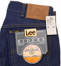LEE RIDERS NWT VTG 1970s STRAIGHT LEG REGULAR FIT JEANS MADE IN USA W31 INS 30.5