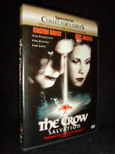The Crow: Salvation (DVD, 2001) Mint•No Scratches!•Kirsten Dunst•US•Out-of-Print