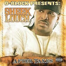SHEEK LOUCH After Taxes CD 18trk D-Block THE LOX Jadakiss GHOSTFACE KILLAH
