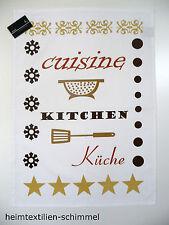 STUCO Geschirrtuch Küchentuch Geschirrtücher Handtuch KITCHEN RETRO Küche Zubehö